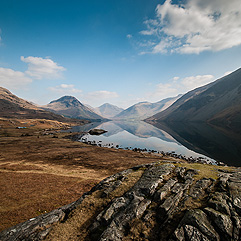 Wastwater landscape photography
